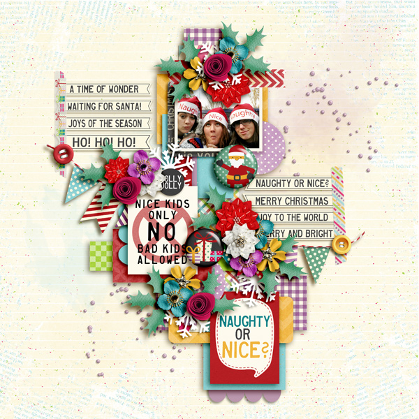 Layout Sample of Very Merry Christmas | Collection