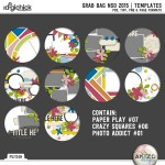 It's National Scrapbooking Day! Template Grab Bag + NSD Sale