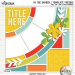 DigiScrap Parade – In The Garden
