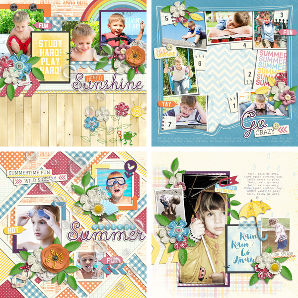 Layout Sample of After The Rain | Quickpages