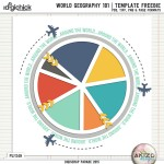 DigiScrap Parade – World Geography 101