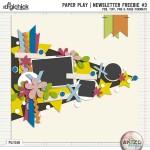 Newsletter Freebie – Paper Play 03