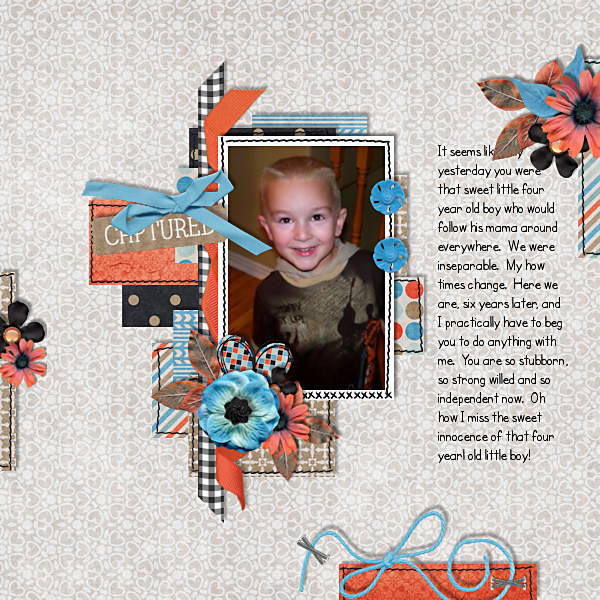 Layout Sample of Stitched Up #01 | Templates