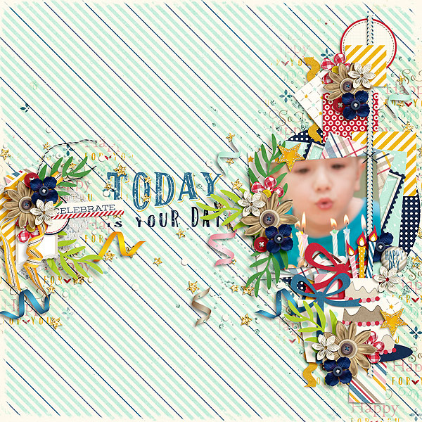 Layout Sample of Happy For You | Collection