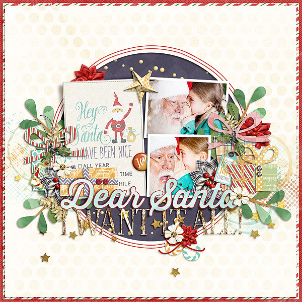 Layout Sample of The Merriest Christmas | Collection