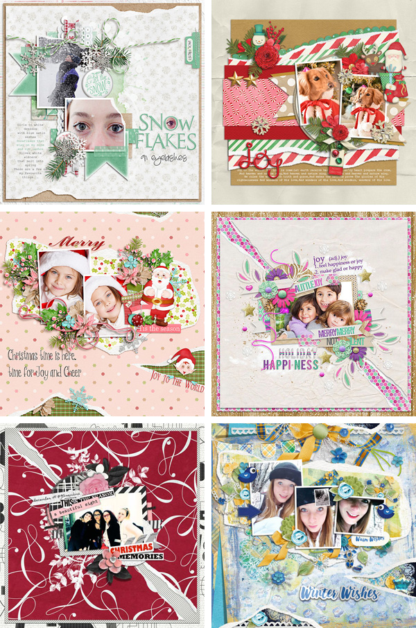 Layout Sample of Torn Paper Play 01 | Templates