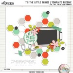 DigiScrap Parade – It's The Little Things