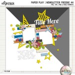 Newsletter Freebie – Paper Play #04