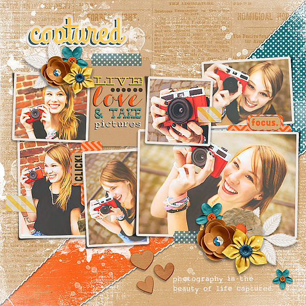 Layout Sample of Photo Addict #05 | Templates