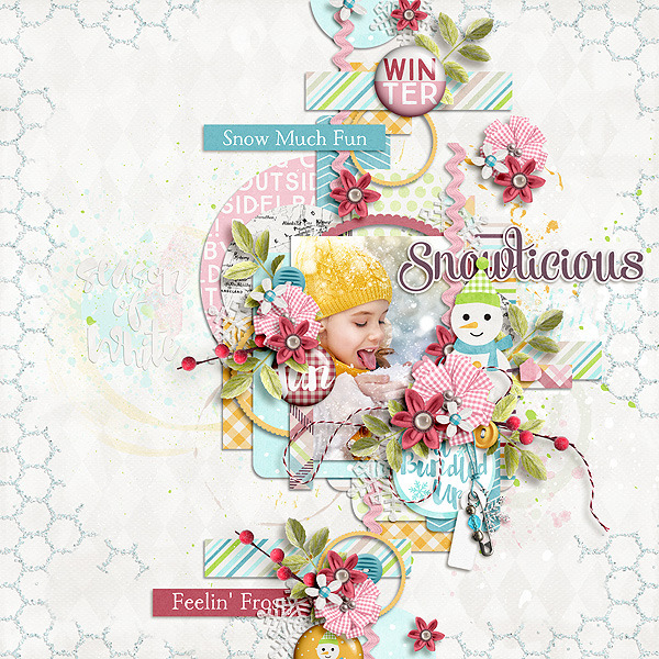 Layout Sample of Snow Snow Snow | Collection