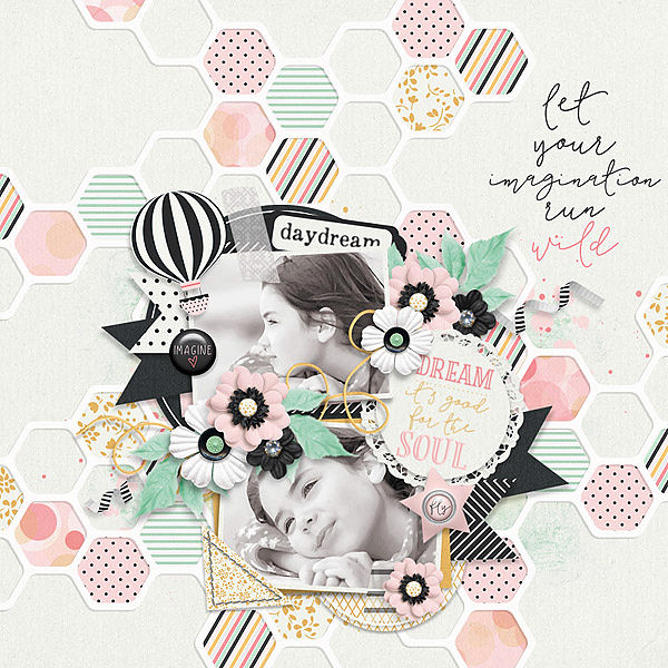 Layout Sample of Paper Play #15 | Templates