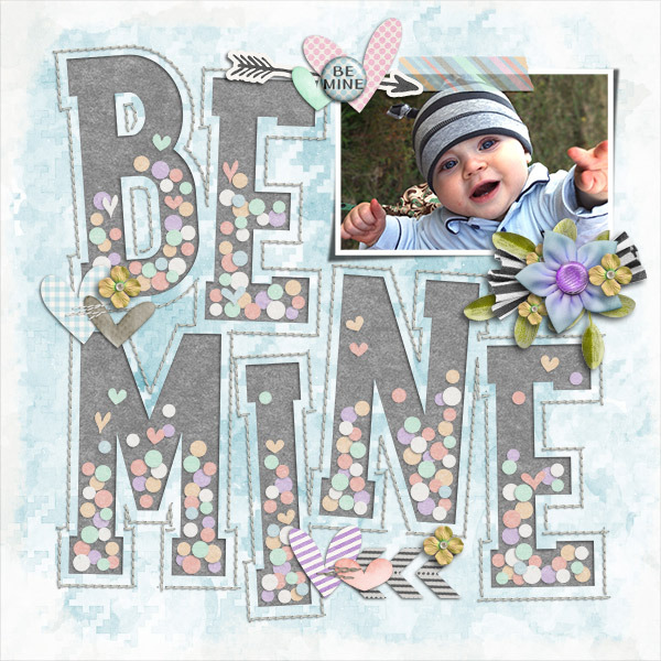 Layout Sample of Playing With Confetti #03 | Templates