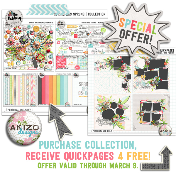 Buy Spring Has Sprung | Collection Get Quickpages FREE