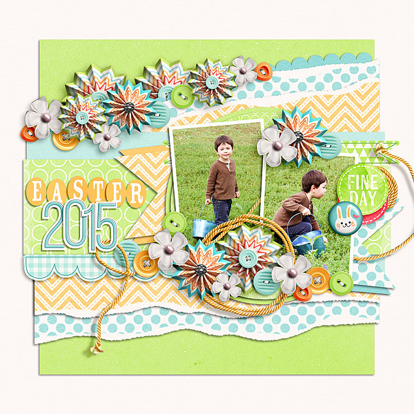 Layout Sample of Spring Has Sprung | Collection