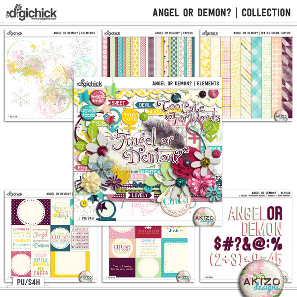 Angel or Demon   Collection by Akizo Designs