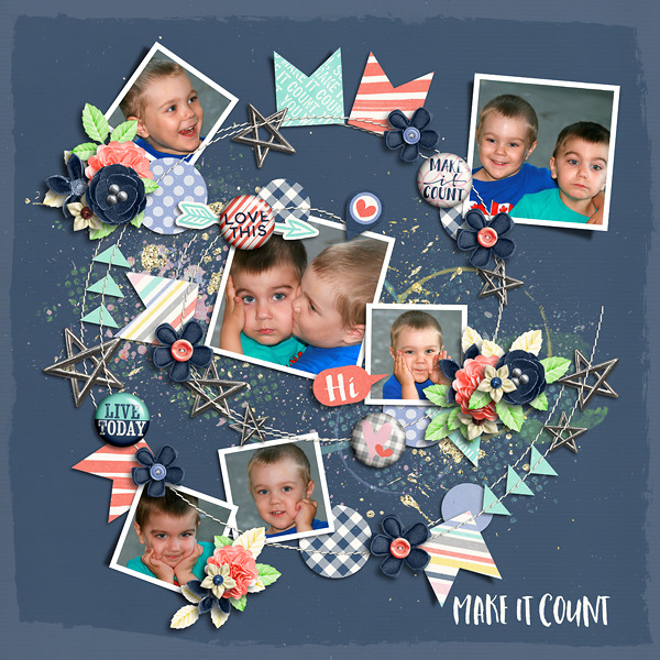 Layout Sample of Make It Count | Collection