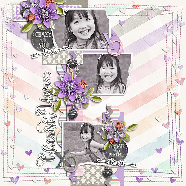 Layout Sample of Torn Paper Play 03 | Templates