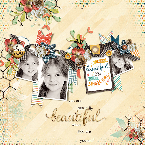 Layout Sample of Natural Beauty   Collection