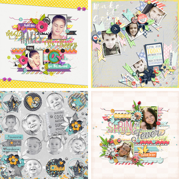 Layout Sample of Stitched Up #04 | Templates