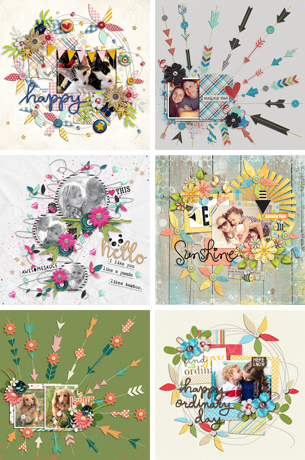 Layout Sample of Stitched Up 05 | Templates