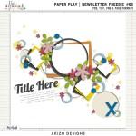 Newsletter Freebie – Paper Play #06