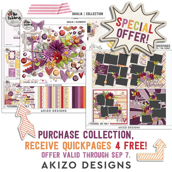 Buy Dahlia | Collection Get Quickpages FREE