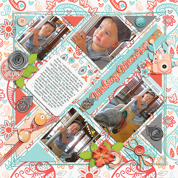 Layout Sample of In The Box #04 | Templates