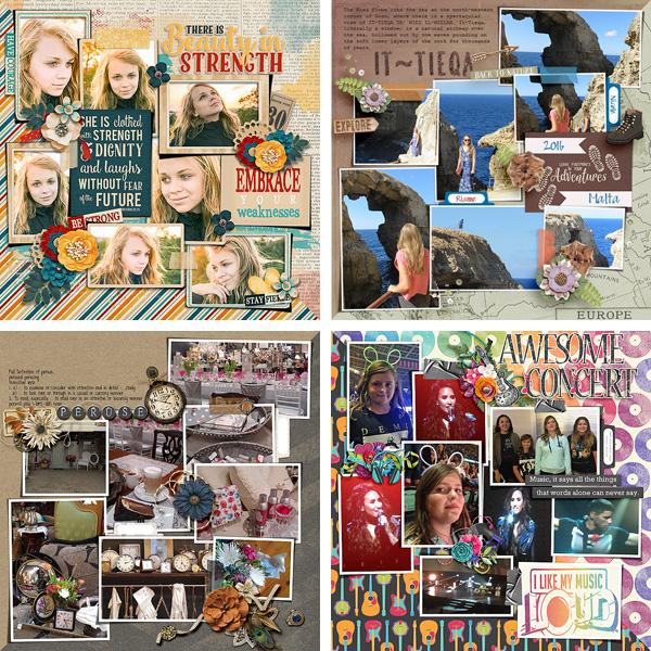 Layout Sample of Photo Addict 08   Templates