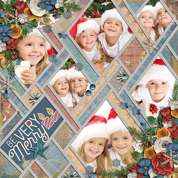 Layout Sample of Crazy Squares 07   Templates