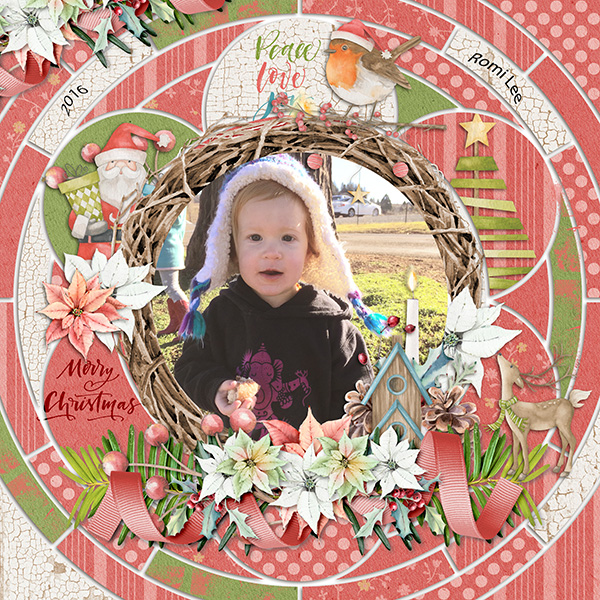 Layout Sample of Crazy Squares 07 | Templates