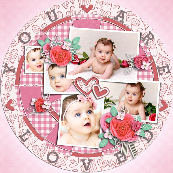 Layout Sample of From The Heart 05   Templates