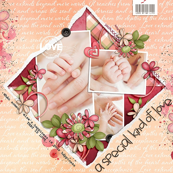 Layout Sample of Torn Paper Play 05 | Templates