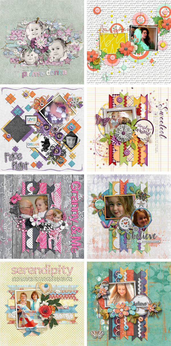 Layout Sample of Stitched Up 07 | Templates