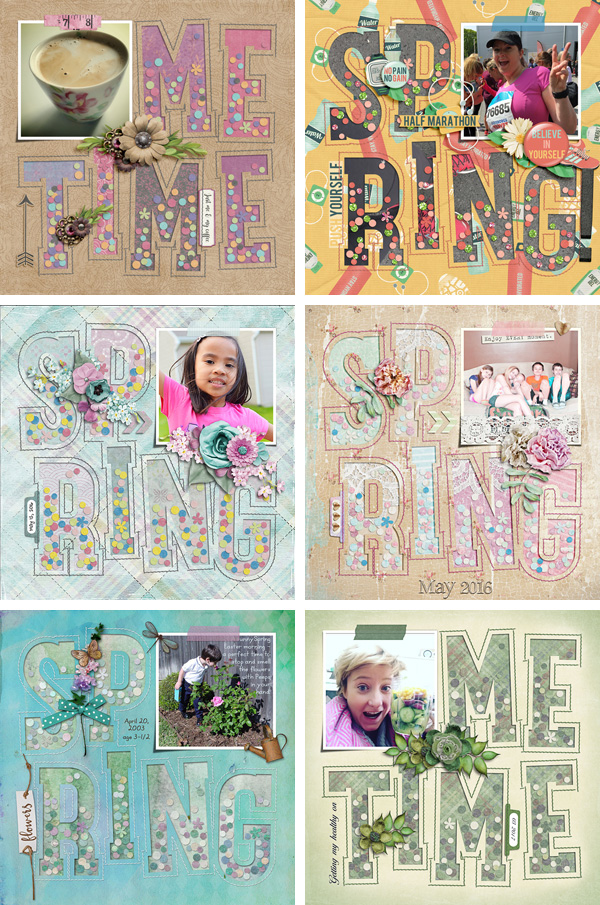 Layout Sample of Playing With Confetti 05 | Templates