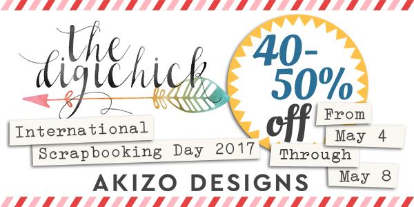iNSD Sale | Akizo Designs | Digital Scrapbooking