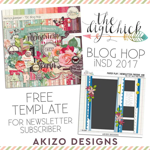 iNSD freebie | Akizo Designs | Digital Scrapbooking