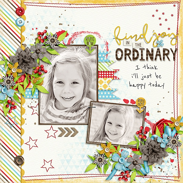 Layout Sample of Ordinary Day Again | Collection
