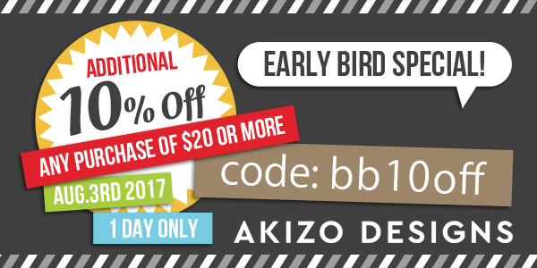 Early Bird Special Coupon