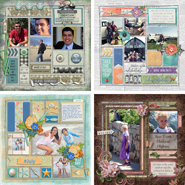 Layout Sample of In The Box 06 | Templates