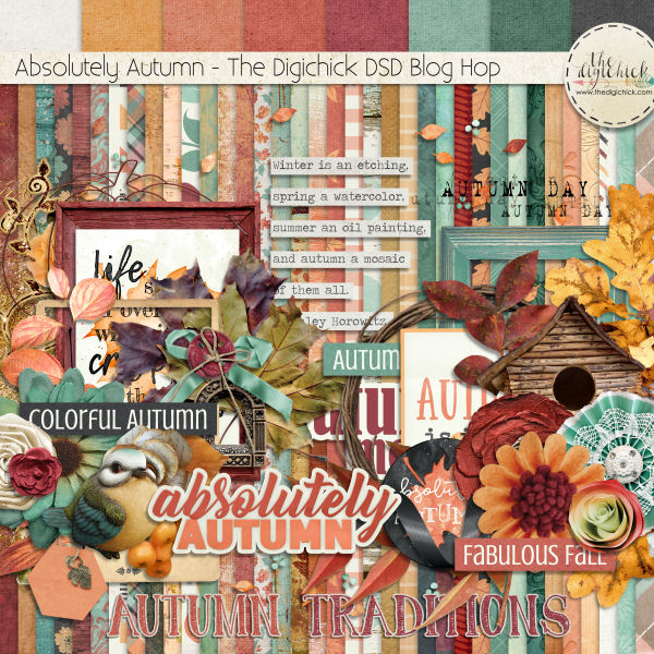 Layout Sample of Absolutely Autumn | Collection by TDC Designers