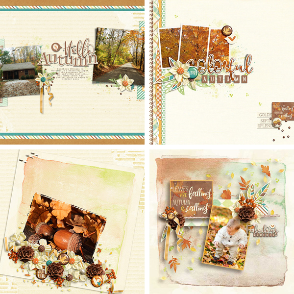 Layout Sample of Falling Into Autumn | Collection