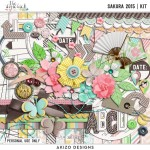 New Kit Sakura 2015 + Free with Purchase Quickpages