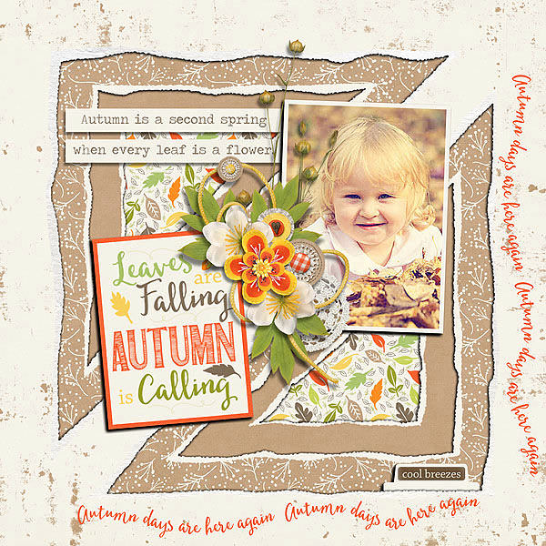 Layout Sample of Torn Paper Play 06 | Templates