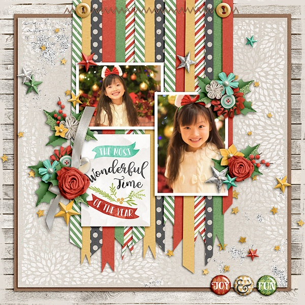 Layout Sample of Happy Holidays | Collection