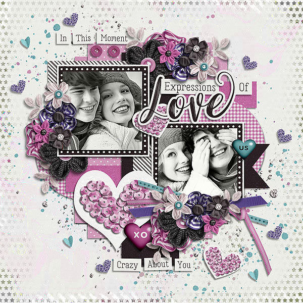 Layout Sample made by Conny using Always And Forever   Collection