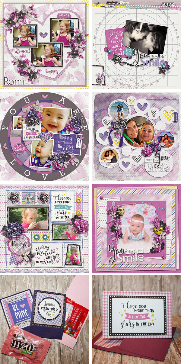 Layout Sample of Always And Forever   Collection