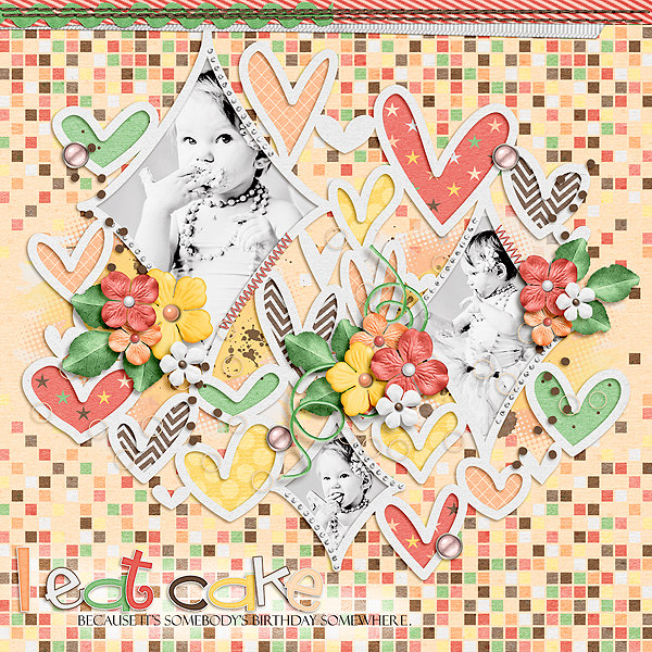 Layout Sample of From The Heart 06 | Templates