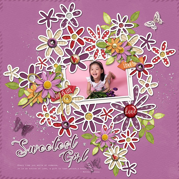 Layout Sample of Spring Leaves 03 | Templates