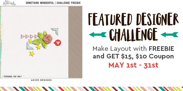 Game And Challenge in iNSD | Akizo Designs | Digital Scrapbooking