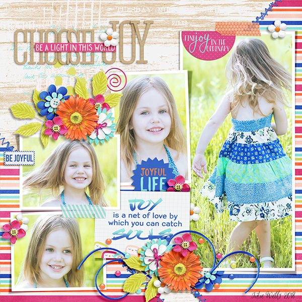Layout Sample of Photo Addict 11 | Templates